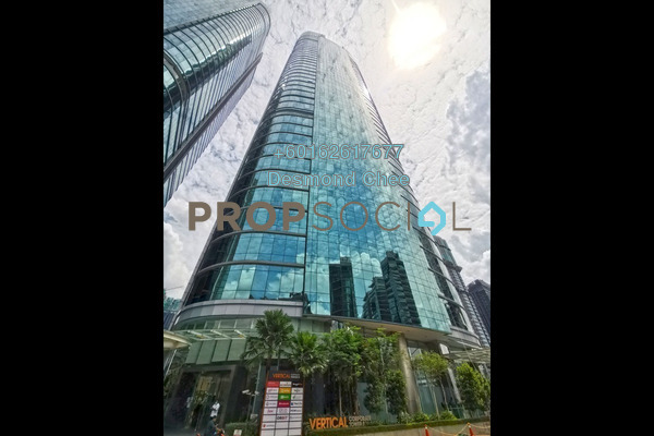 Office For Rent in The Vertical, Bangsar South Freehold Unfurnished 0R/0B 10.2k