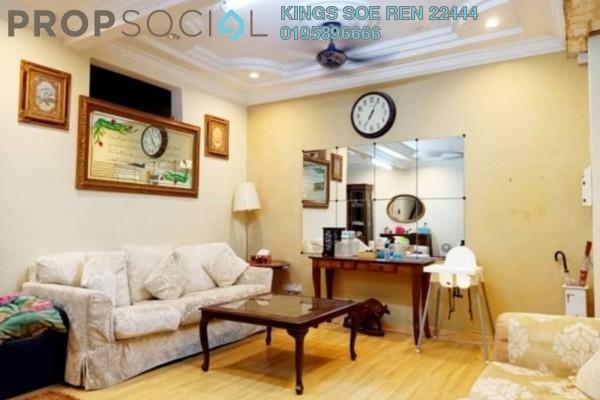 Terrace For Sale in BU1, Bandar Utama Freehold Semi Furnished 4R/3B 1.28m