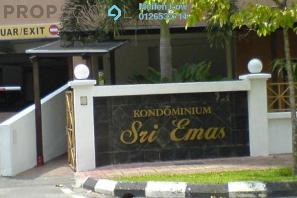 For Rent Condominium at Sri Emas, Pudu Freehold Fully Furnished 3R/2B 2.3k