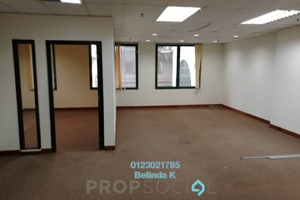 Office For Sale in Megan Avenue 2, KLCC Freehold Semi Furnished 0R/1B 1.18m