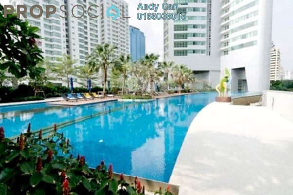 For Rent Condominium at Millennium Tower, Gurney Drive Freehold Fully Furnished 3R/2B 2.4k