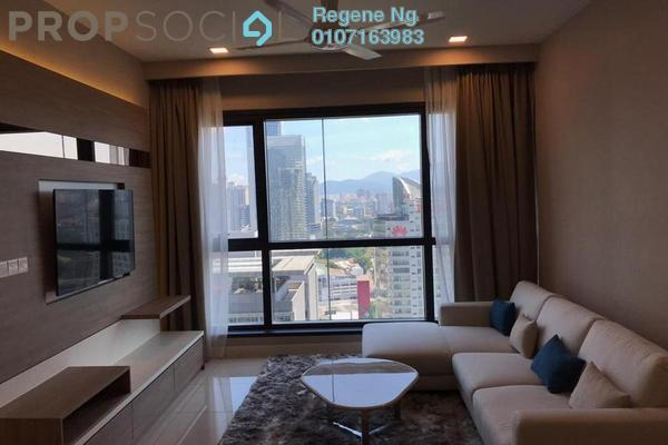Condominium For Rent in Aria, KLCC Freehold Fully Furnished 1R/1B 4k