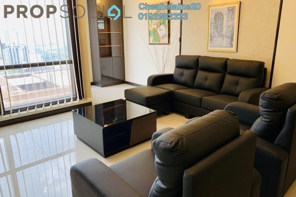 Serviced Residence For Rent in Berjaya Times Square, Bukit Bintang Freehold Fully Furnished 2R/2B 3.2k