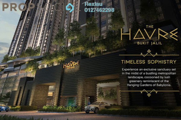 For Sale Condominium at The Havre, Bukit Jalil Freehold Unfurnished 3R/2B 450k