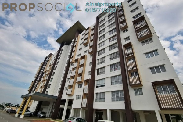 For Sale Apartment at Seri Mutiara, Setia Alam Freehold Unfurnished 3R/2B 360k
