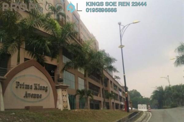 Shop For Sale in Prima Klang Avenue, Klang Freehold Semi Furnished 0R/0B 950k