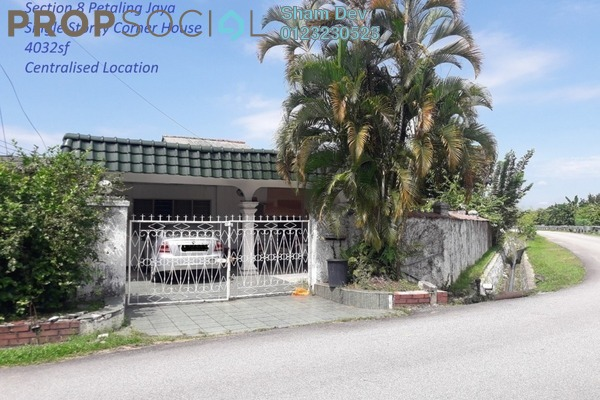Terrace For Sale in Section 8, Petaling Jaya Leasehold Semi Furnished 3R/2B 788k