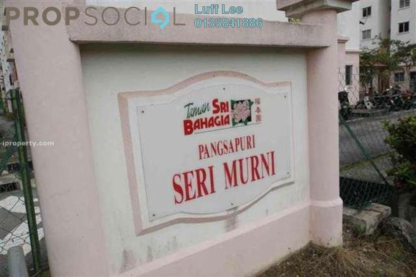 For Sale Condominium at Seri Murni Apartment, Cheras South Freehold Semi Furnished 3R/2B 200k