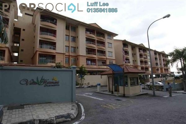 For Sale Condominium at Vista Harmoni, Cheras South Freehold Semi Furnished 3R/2B 300k