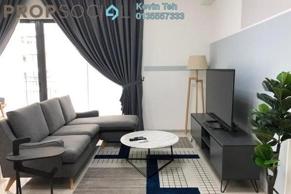 For Rent Condominium at Sunway Mont Residences, Mont Kiara Freehold Fully Furnished 2R/2B 4.6k