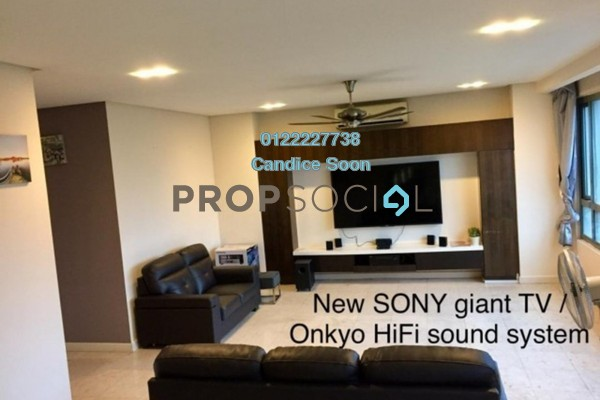 For Rent Condominium at The CapSquare Residences, Dang Wangi Freehold Fully Furnished 4R/4B 6.5k