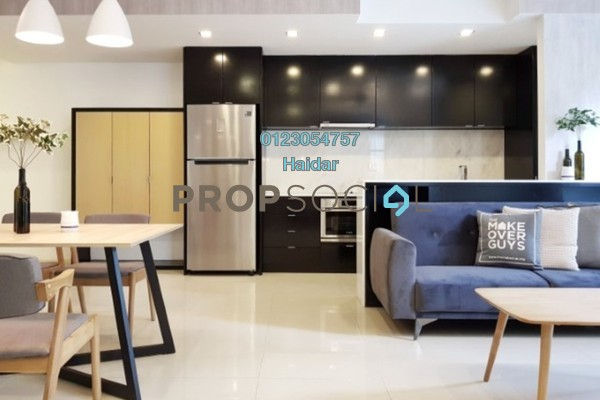 Condominium For Rent in VERVE Suites, Mont Kiara Freehold Fully Furnished 2R/2B 3.4k