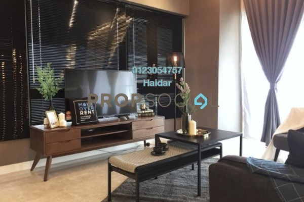 Condominium For Rent in The Sentral Residences, KL Sentral Freehold Fully Furnished 3R/3B 7k