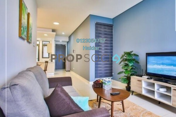 Condominium For Rent in Vivo Residential @ 9 Seputeh, Old Klang Road Freehold Fully Furnished 3R/2B 3k