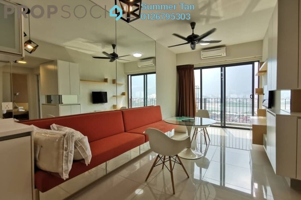 Condominium For Sale in Dex @ Kiara East, Jalan Ipoh Freehold Fully Furnished 2R/1B 398k