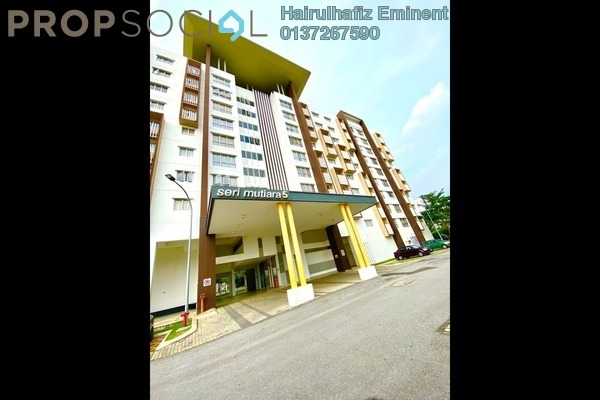 For Sale Apartment at Seri Mutiara, Setia Alam Freehold Semi Furnished 3R/2B 360k