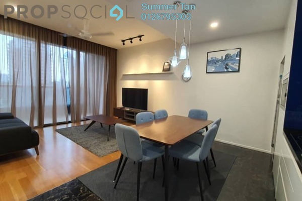 Condominium For Rent in Arcoris, Mont Kiara Freehold Fully Furnished 2R/2B 5k
