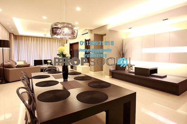 Condominium For Sale in Lumi Tropicana, Tropicana Freehold Semi Furnished 2R/1B 520k