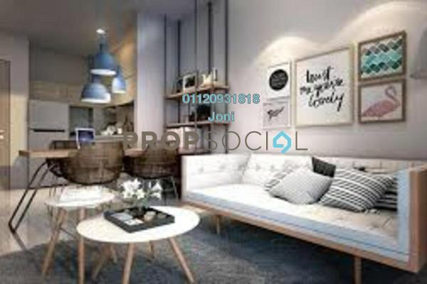 Condominium For Sale in Twin Arkz, Bukit Jalil Freehold Fully Furnished 3R/2B 650k