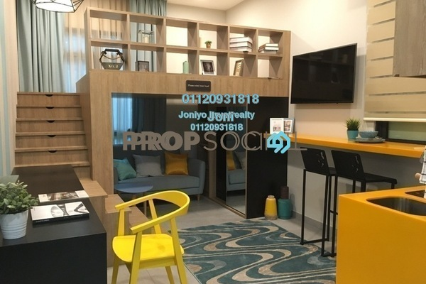 Condominium For Sale in D'Rapport Residences, Ampang Hilir Freehold Unfurnished 1R/1B 340k
