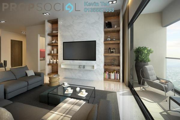 Condominium For Sale in Solaris Parq, Dutamas Freehold Semi Furnished 1R/1B 917k