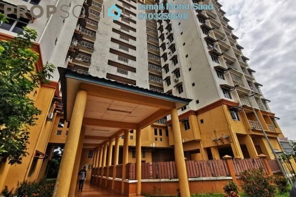For Sale Apartment at Taman LTAT, Bukit Jalil Freehold Unfurnished 3R/2B 275k