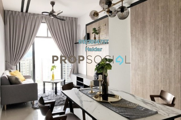 Condominium For Rent in Lexa Residence @ The Quartz, Wangsa Maju Freehold Fully Furnished 3R/2B 2.2k