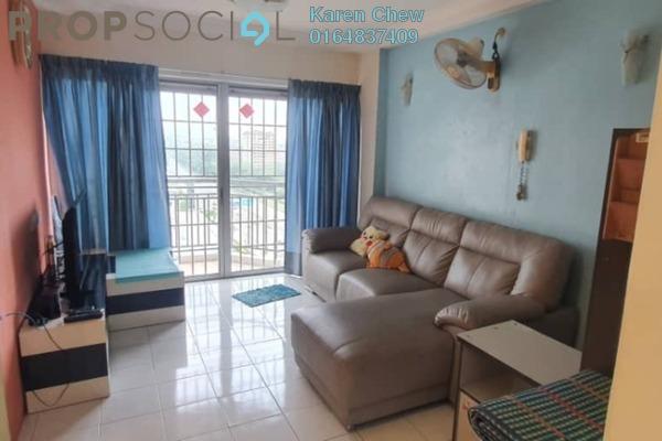 For Rent Condominium at Villa Emas, Bayan Indah Freehold Fully Furnished 3R/2B 1.35k