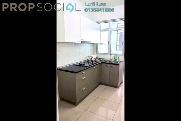 Condominium For Rent in Kiara Residence 2, Bukit Jalil Freehold Semi Furnished 3R/2B 1.6k