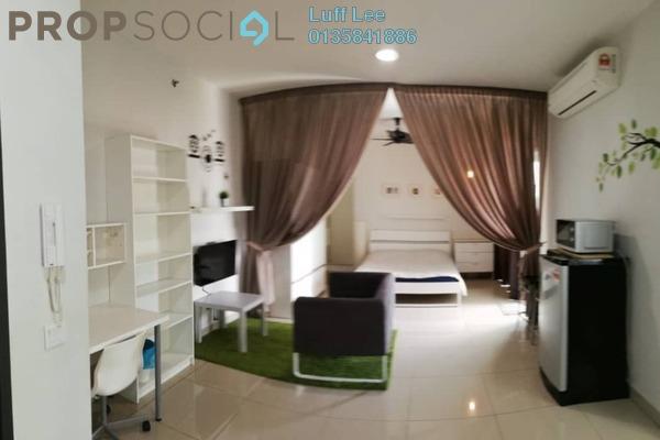 For Rent Condominium at Univ 360 Place, Seri Kembangan Freehold Fully Furnished 0R/1B 1.2k
