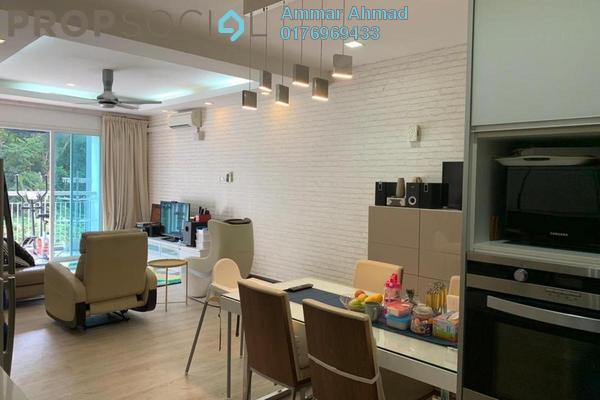 Condominium For Sale in 3 Residen, Melawati Freehold Semi Furnished 3R/2B 662k