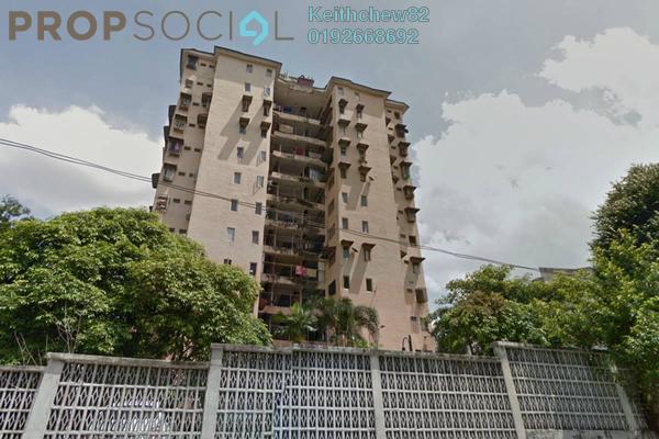 Apartment For Sale in Section 4, Bandar Mahkota Cheras Freehold Unfurnished 3R/2B 180k