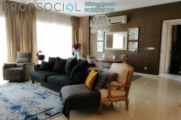 Condominium For Sale in Surian Condominiums, Mutiara Damansara Freehold Semi Furnished 5R/4B 1.3m