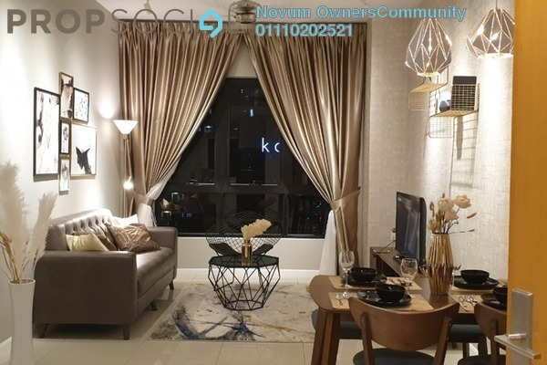 Condominium For Rent in Novum, Bangsar South Freehold Fully Furnished 2R/2B 3.8k