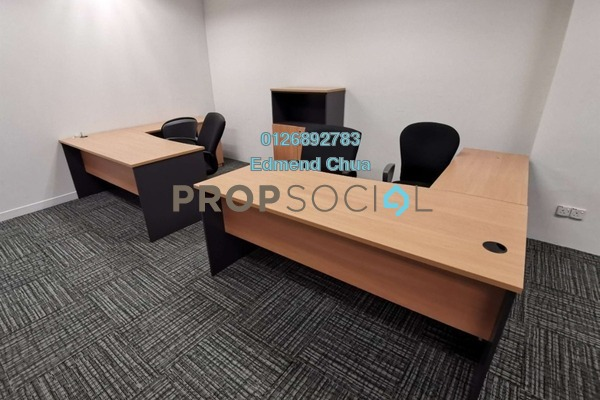 For Rent Office at Wisma BU8, Bandar Utama Freehold Fully Furnished 0R/0B 1.2k