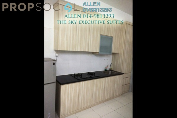 For Rent Condominium at The Sky Executive Suites, Bukit Indah Freehold Fully Furnished 1R/1B 1k