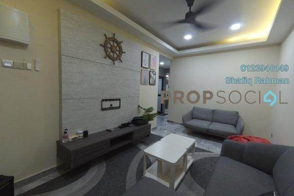 Terrace For Rent in Taman Muhibbah, Kajang Freehold Fully Furnished 3R/2B 1.3k