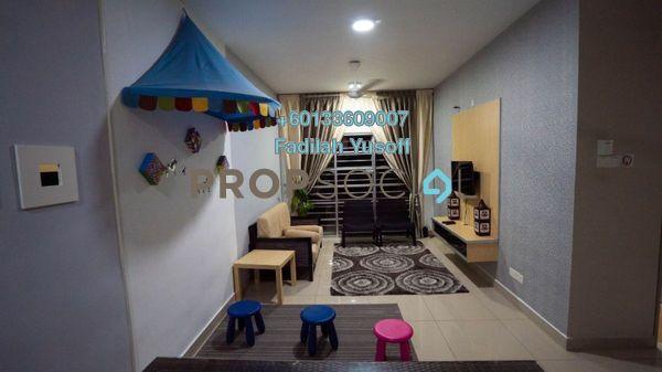 Condominium For Rent in Saujana Aster, Putrajaya Freehold Fully Furnished 3R/2B 1.7k