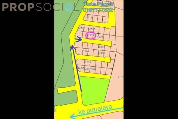 Land For Sale in Precinct 18, Putrajaya Freehold Unfurnished 0R/0B 196k