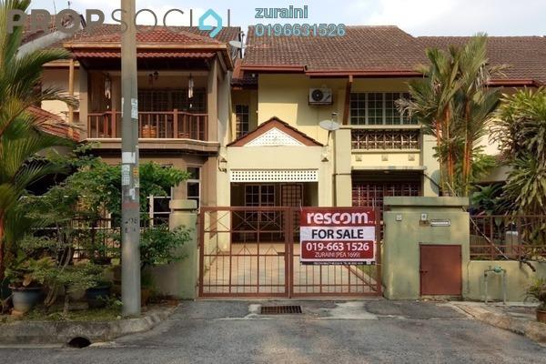 Terrace For Sale in Damai Budi, Alam Damai Freehold Semi Furnished 4R/3B 770k