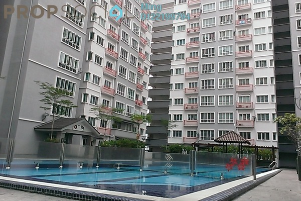 For Sale Condominium at Banjaria Court, Batu Caves Leasehold Unfurnished 3R/2B 340k