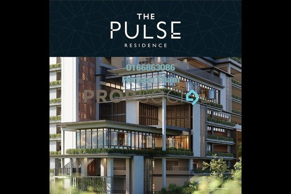 Condominium For Sale in The Pulse Residence, Bandar Puchong Jaya Freehold Semi Furnished 2R/2B 542k