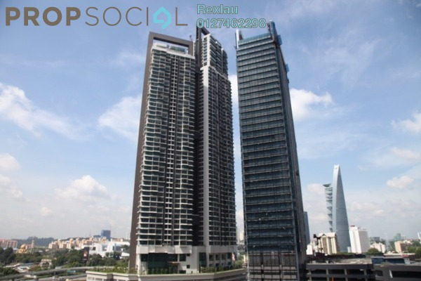 For Sale Serviced Residence at Vogue Suites One @ KL Eco City, Mid Valley City Freehold Semi Furnished 2R/2B 792k