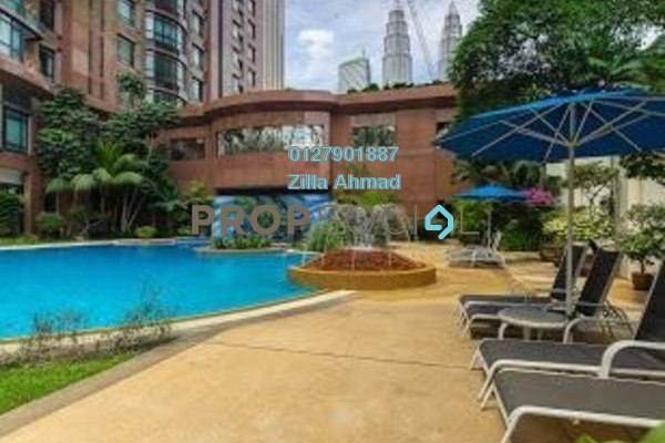 For Rent Condominium at Residensi Kia Peng, KLCC Freehold Fully Furnished 3R/1B 7k