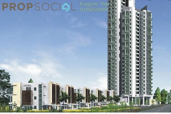 For Rent Condominium at Lumina Kiara, Mont Kiara Freehold Semi Furnished 4R/5B 5.5k