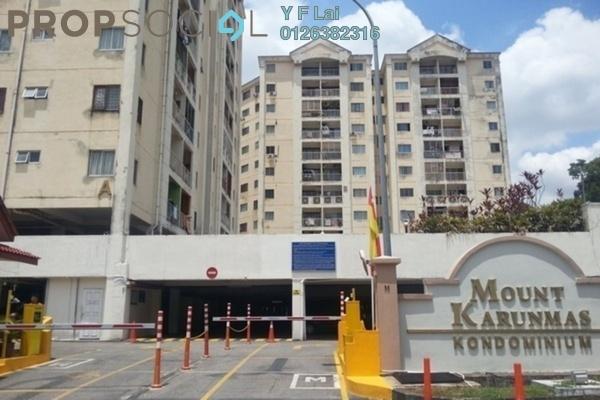 Condominium For Sale in Mount Karunmas, Balakong Freehold Unfurnished 2R/2B 235k