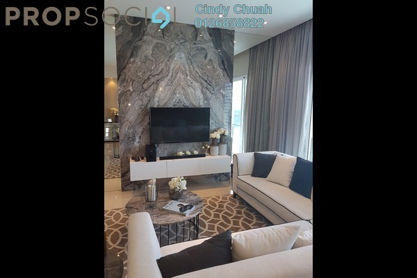 Serviced Residence For Rent in EcoSky Residence, Kuala Lumpur Freehold Fully Furnished 3R/2B 2k