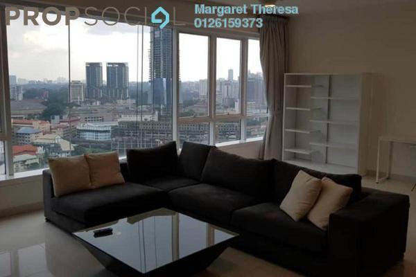 Condominium For Rent in Verticas Residensi, Bukit Ceylon Freehold Fully Furnished 2R/2B 5k