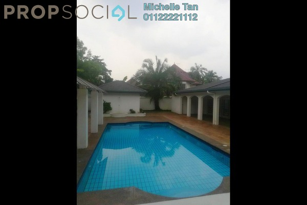 Bungalow For Rent in Taman U-Thant, Ampang Hilir Freehold Semi Furnished 3R/3B 25k