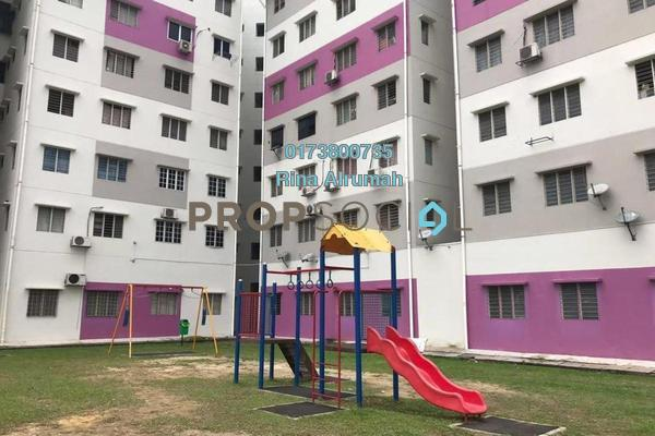 For Sale Apartment at Saville Residence, Old Klang Road Freehold Semi Furnished 3R/2B 170k